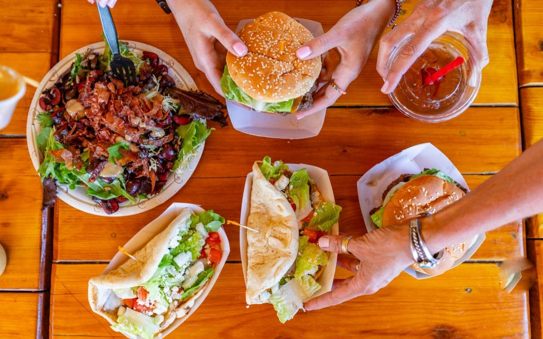 Where To Get Lunch On Green Bluff